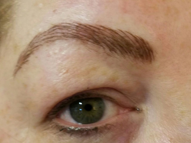 Eyebrow Tattoo Before And After Tn North Dallas Permanent Cosmetics