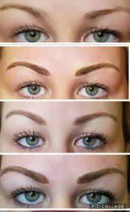 Permanent Eyebrow Progress