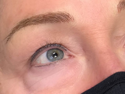 September 2020 Eyeliner Brows Texas Pictures