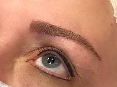 Feb 2021 Eyeliner Brows Texas Pictures
